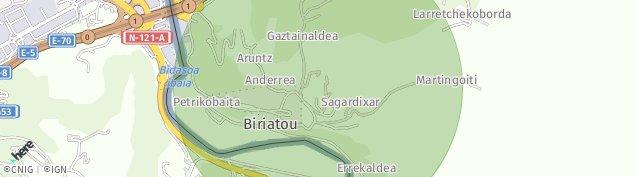 Carte de Biriatou