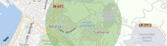 Mapa San Bartolome
