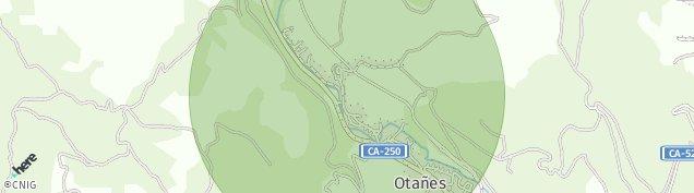 Mapa Santullan