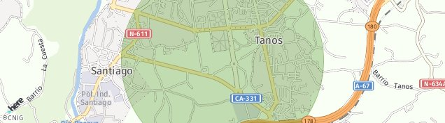 Mapa Campuzano