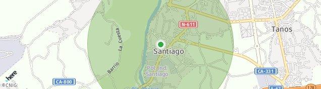 Mapa Santiago de Cartes