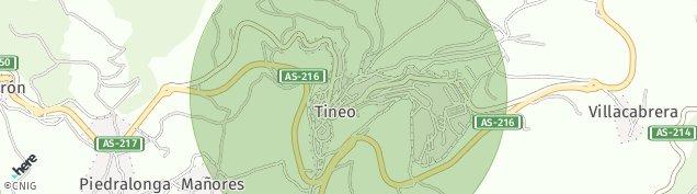 Mapa Tineo