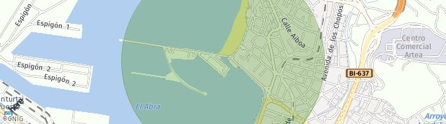 Mapa Areeta