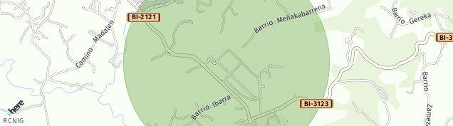Mapa Ibarra de Orozco
