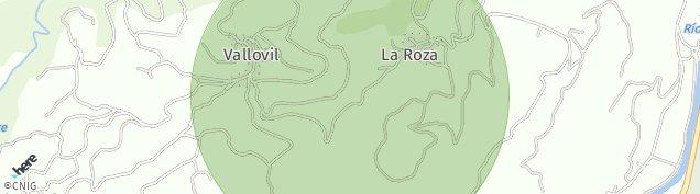 Mapa Vallobil