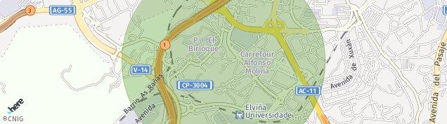 Mapa O Birloque