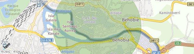 Carte de Hendaye