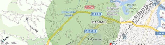 Mapa Mendelu