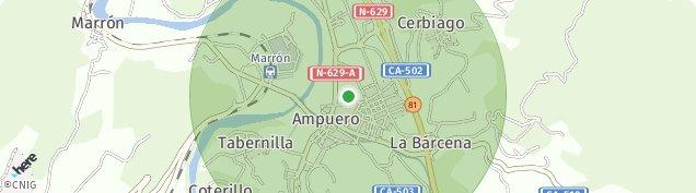 Mapa Ampuero