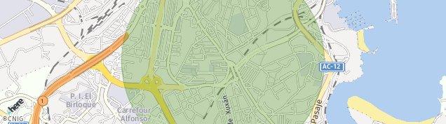 Mapa Avenida Monserrat