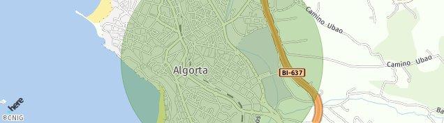 Mapa Getxo