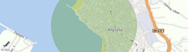 Mapa Algorta