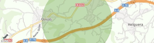 Mapa Quijas