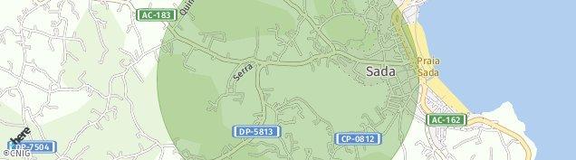 Mapa Sada