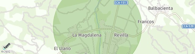 Mapa Revilla