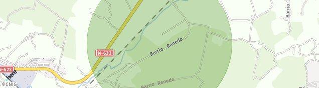 Mapa Renedo de Pielagos