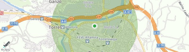 Mapa Torrelavega