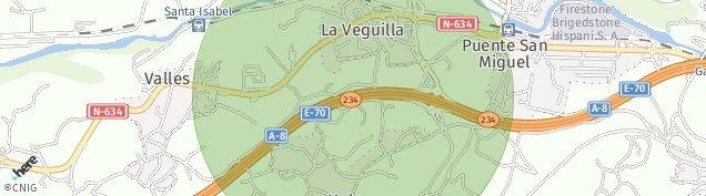 Mapa Puente San Miguel