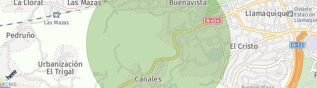 Mapa La Lloral