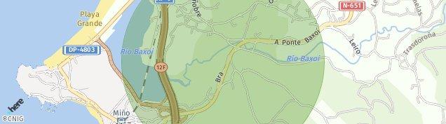 Mapa Miño