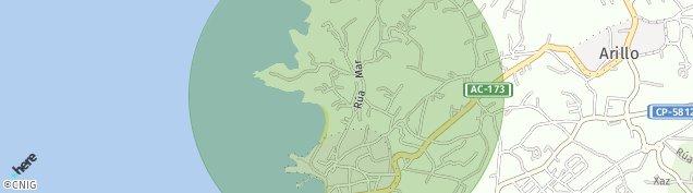 Mapa Augarrio