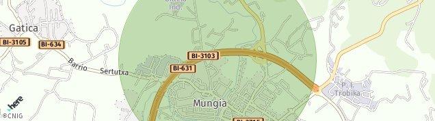 Mapa Mungia