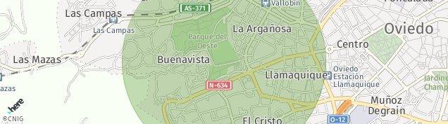 Mapa Oviedo