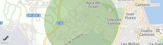 Mapa Lugar San Pedro de Visma