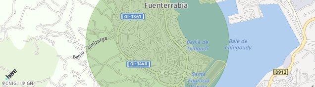 Mapa Hondarribia