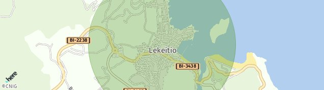 Mapa Lekeitio