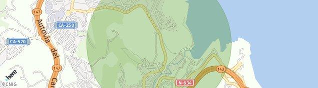 Mapa Mioño