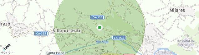 Mapa Villapresente