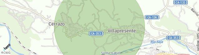 Mapa Cerrazo