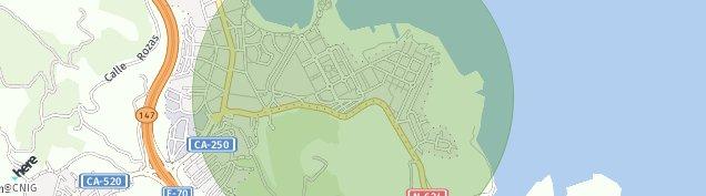 Mapa Samano