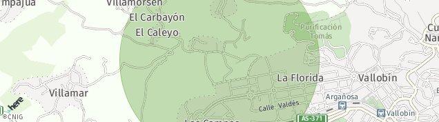 Mapa Las Campas