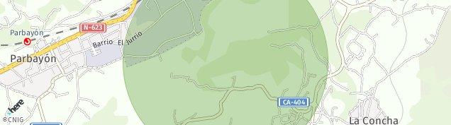 Mapa Parbayon