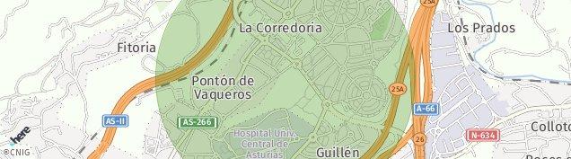Mapa Corredoria