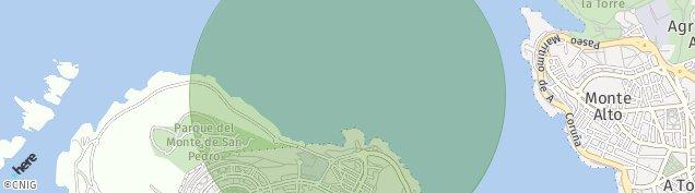 Mapa Camiño de Penamoa
