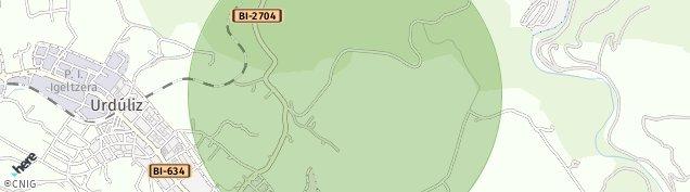 Mapa Landa / Sondika