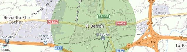 Mapa El Berron