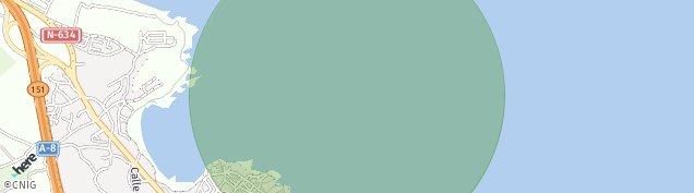 Mapa Castro-Urdiales