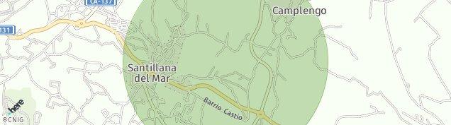 Mapa Santillana del Mar