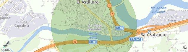 Mapa Guarnizo