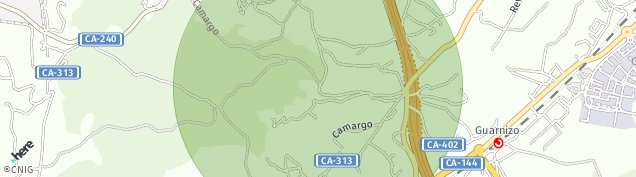 Mapa Camargo