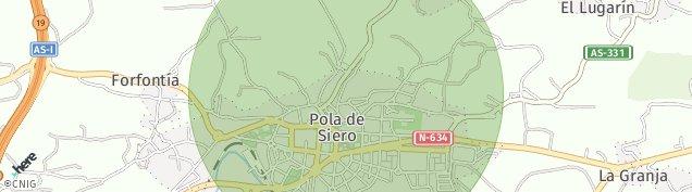 Mapa Pola de Siero