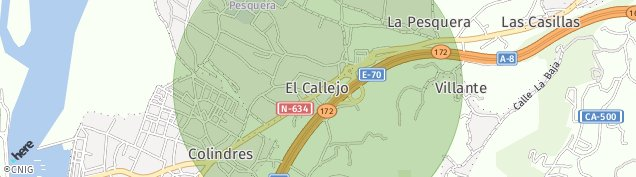 Mapa Colindres