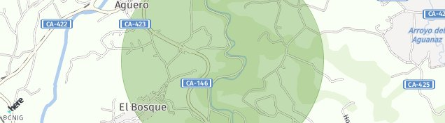 Mapa Hoznayo