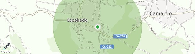 Mapa Escobedo de Camargo