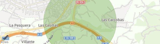 Mapa Las Casillas