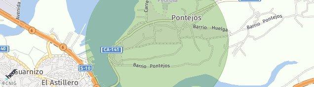 Mapa Pontejos